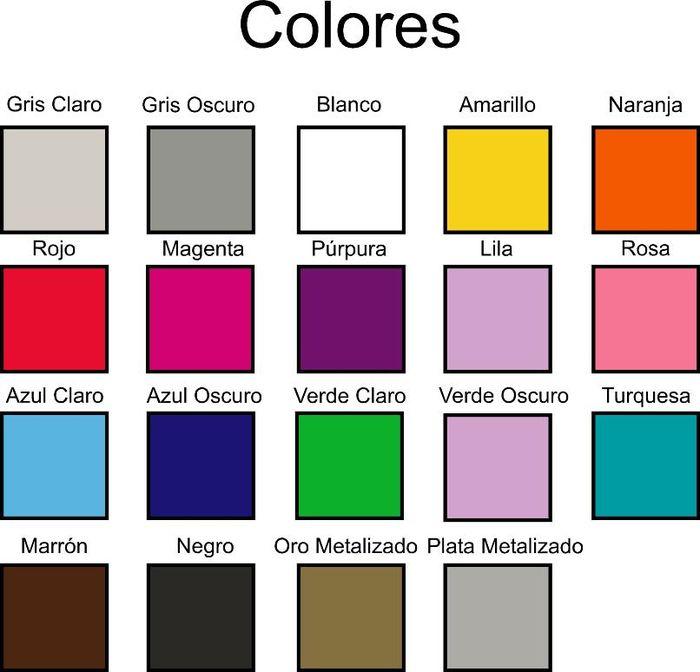 Tienda on line gama de colores pictures - Gama de colores rosas ...